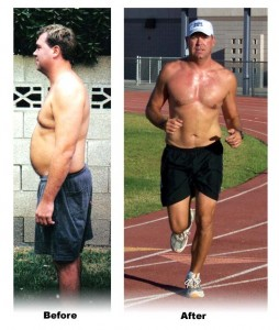 FATMAN TO IRONMAN. Dr Jeff at 270 and at 205 Triathlon Weight Loss Combo Plans