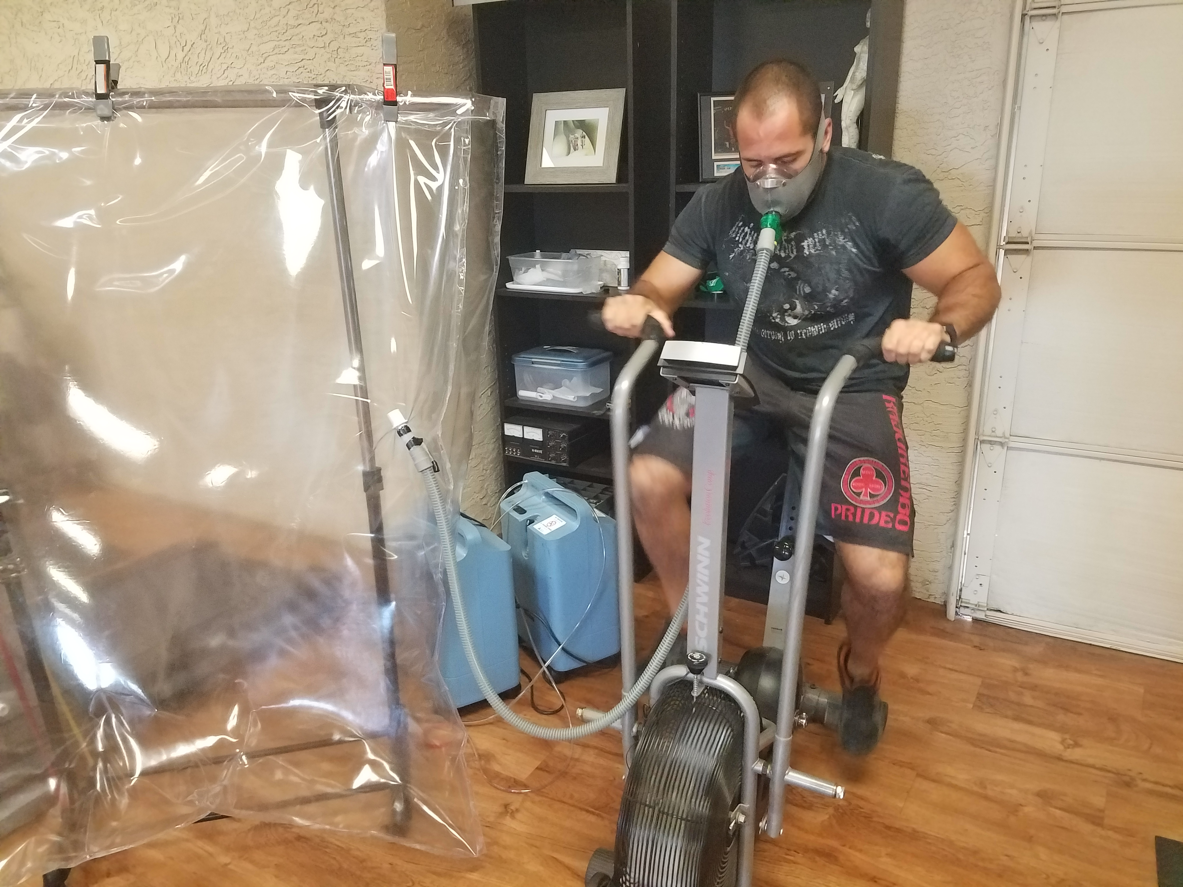 Arizona physical therapy equipment - Exercise With Oxygen Therapy Ewot Gilbert Az